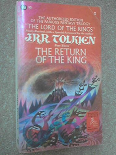 The Return of the King Being the Third Part of the Lord of the Rings, Tolkien, J.R.R.