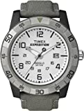 Timex Men's T49864 Expedition Rugged Analog Gray Canvas Strap Watch