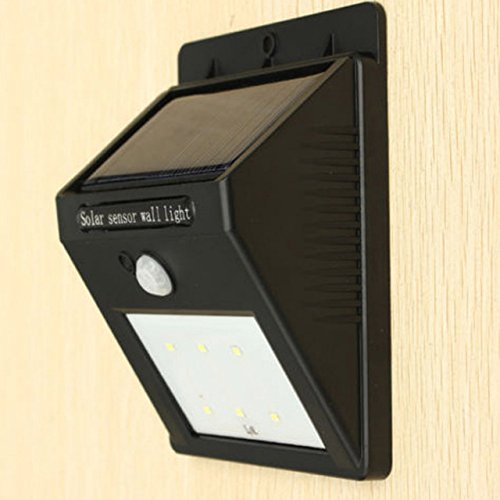 2016 Solar Outdoor LED with human body motion sensor for garden wall type lamp (Quest Wind Curtain compare prices)
