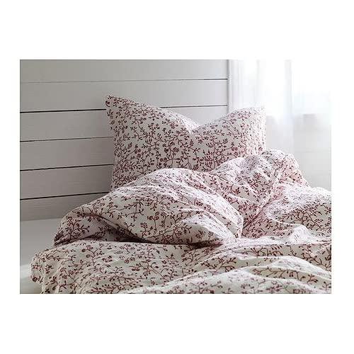 Ikea Alvine Trad 100% Cotton Twin Size French Country Duvet Cover Set