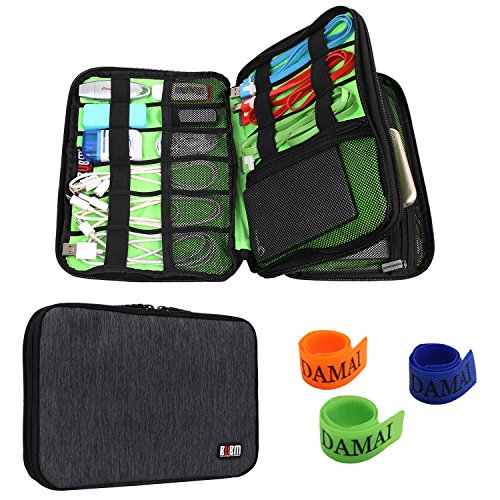 universal-double-layer-travel-gear-organiser-electronics-accessories-bag-battery-charger-case-black
