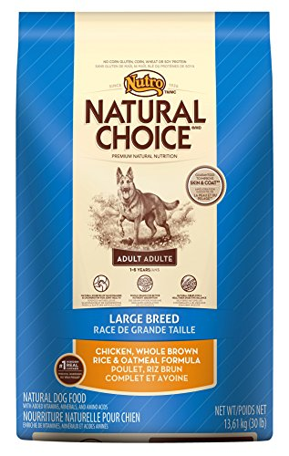 Natural Choice Adult Dog Large Breed Chicken/Brown Rice/Oatmeal Dry Food, 30-Pound