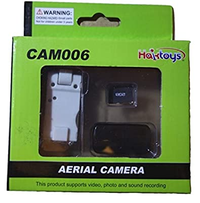 CAM006 Wide-Angle Camera for HAK906 Quadcopter with 1 GB Micro SD Card & Card Reader
