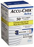 ACCU-CHEK Aviva Mail Order Test Strips, 50-Count Box