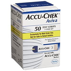 ACCU-CHEK Aviva Mail Order Test Strips, 50-Count Box - 30% OFF Now