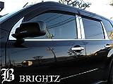 BRIGHTZ エクストレイル T31系 超鏡面ステンレスピラーパネル 10PC バイザー有用 【 KSMU-201-YC 】 1277