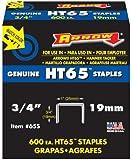 """Arrow Fastener 65S 3/4"""" HT65 Staples (600-Pack)"""