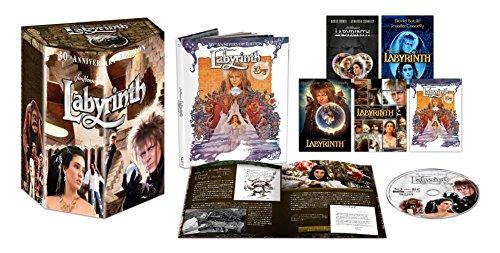 【Amazon.co.jp限定】ラビリンス 魔王の迷宮 30周年アニバーサリー・コレクターズ迷宮BOX 【初回生産限定】 [Blu-ray]