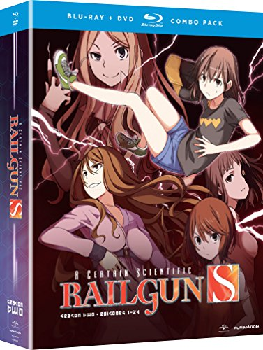 A Certain Scientific Railgun S - Season Two (Blu-ray/DVD Combo)