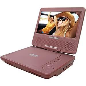 Sylvania SDVD7014-MPINK Portable 7-Inch  Widescreen DVD Player