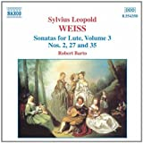 Weiss: Lute Sonatas, Vol.3by Robert Barto