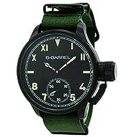 [ビーバレル] B-BARREL 腕時計 手巻き BB0046IPBK-4 メンズ [並行輸入品]