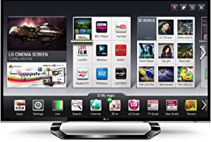 LG 47LM640T 47-inch Widescreen Full HD 1080p LED Cinema Screen 3D Smart TV with built in WiFi Freeview HD