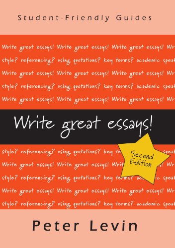 Write Great Essays (Studentfriendly Guides)