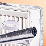 Great Ideas Panneau réflecteur de chaleur en aluminium pour radiateur