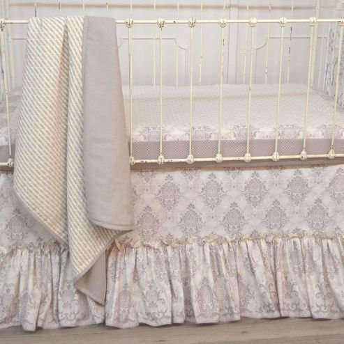 Bless This Child 3 Piece Crib Bedding Set by Persnickety Baby Bedding