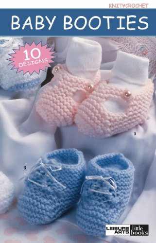 Baby Booties - Crochet Patterns front-934632
