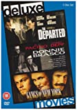 The Departed/Donnie Brasco/Gangs of New York [DVD]