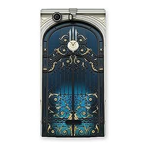Cute Royal Door Print Back Case Cover for Canvas Nitro 2 E311