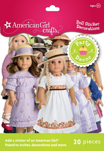 American Girl Crafts Doll Sticker Decorations - 1