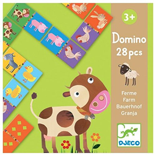 Djeco Farm Dominos (28 pc)