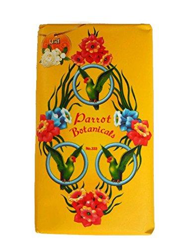Parrot Botanical Jasmine Fragrance Soap 75g. (Pack of 4) (Daisy Duke Costumes Halloween)