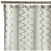 Blaze Woven Jacquard Shower Curtain 70Wx72L