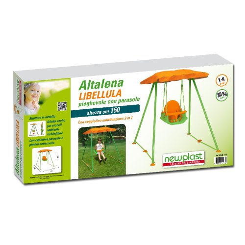 New plast amb1319 altalena pieghevole libellula con for Altalena amazon