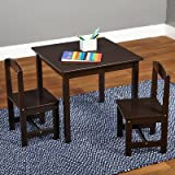 Hayden Kids 3 Piece Square Table and Chairs Set
