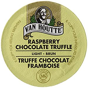 Van Houtte Chocolate Raspberry Truffle Coffee, Light Roast