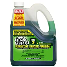 Simple Green 30320 D Pro 3 Disinfectant/Virucidal/Fungicidal Cleaner, 1 Gallon Bottle