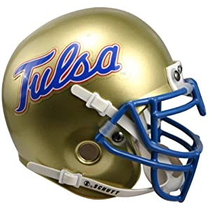 NCAA Tulsa Golden Hurricanes Collectible Mini Helmet by Schutt