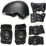 SKATEBOARD / SKATE PROTECTION SET WITH HELMET elbow knee pads for kids scooter BMX skate board