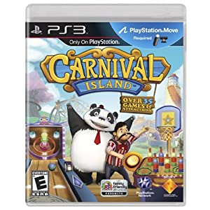 Carnival Island Video Game for PS3
