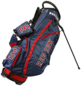 MLB Boston Red Sox Fairway Stand Golf Bag, Navy by Team Golf