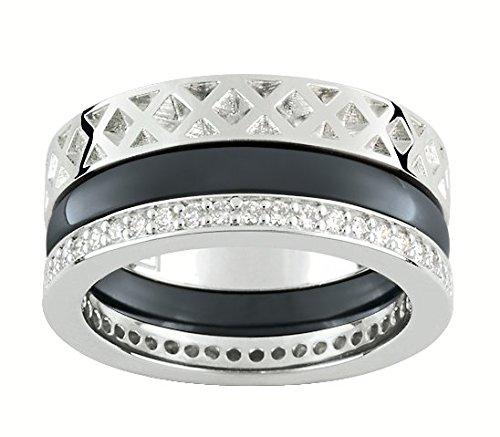 bague-guy-laroche-argent-925-1000-ceramique-noir-anneaux-superposables-atv005acnz-taille-58