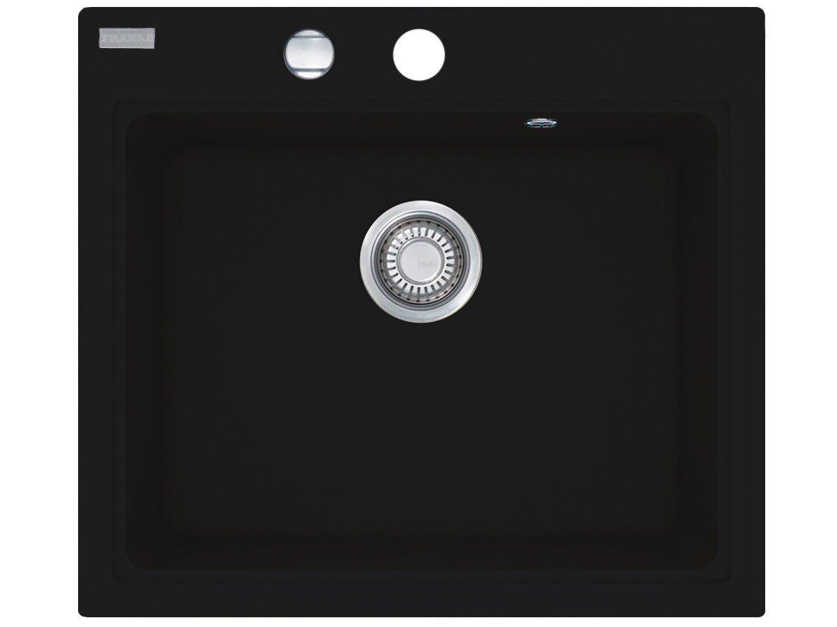 Franke Maris MRG 61058 Onyx Granit Küchenspüle Schwarz Drehexzenter Spültisch  BaumarktKundenbewertung und weitere Informationen