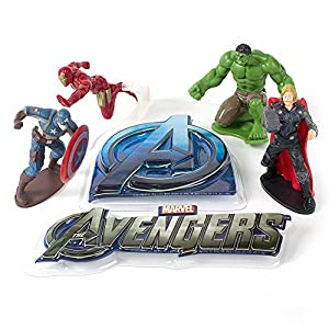 Amazon.com: Avengers Cake Topper Set: Kitchen & Dining