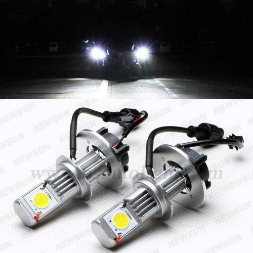 Newsun High Quality Cree Led Car 1800Lm Headlight 50W H7 Led Headlamp Car Head Light Bulb 5000K 12V 24V Automotive Lights Led Auto Lamp