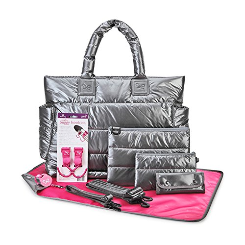 cipu-baby-diaper-bag-with-14-compartments-9-bag-accessories-including-changing-pad-pouch-mini-purse-