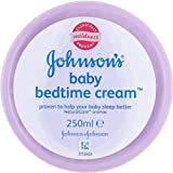 Johnson's Baby bedtime cream Proven to help your baby sleep better (250ml) - Pack of 4