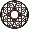 Westinghouse Lighting 77764 16-Inch Antique Bronze Parisian Scroll Ceiling Medallion from Westinghouse Lighting