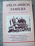 African American Families: Issues Insights and Directions (0939205041) by Nobles, Wade W.