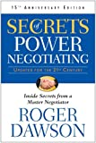 Secrets Of Power Negotiating 15th Anniversary Edition