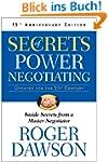 Secrets of Power Negotiating: Inside...