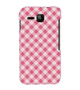 Pink Color Pattern 3D Hard Polycarbonate Designer Back Case Cover for Micromax Bolt S301