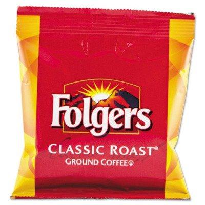 (42 Per Carton) Folgers Classic Roast, Regular, 1.5 Oz.
