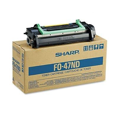 Sharp Fo47nd Fax Toner Developer Cartridge 6000 Page-Yield Black Environmental Friendliness