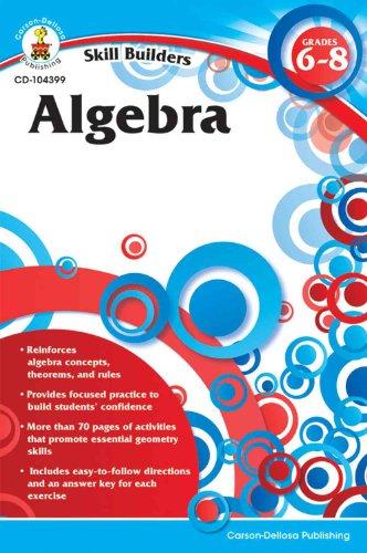 Skill Builders Algebra Workbook, Grade 6-8 - 1