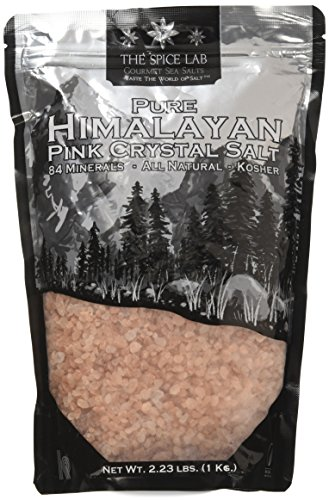 The Spice Lab's - ( Food Grade ) Himalayan Crystal Salt - Dark Pink - (Coarse) - 1 Kilo 2.23 Lbs
